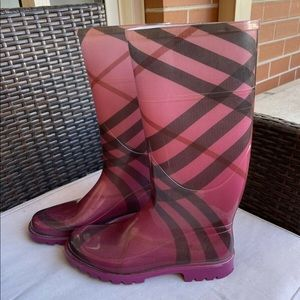 Burberry Gumboots for sale